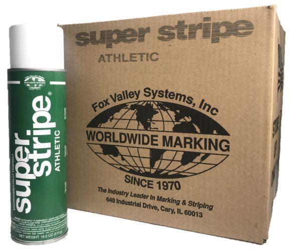 Super Stripe Athletic – White