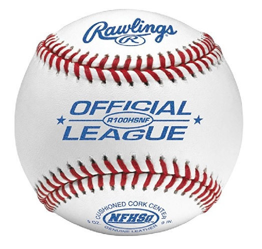 Rawlings R100HSNF-NFHS Stamped Official League Baseball